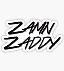 Zamn Zaddy Sticker