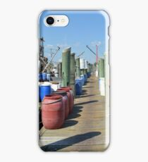 Boat Docks at Point Judith, RI [5] iPhone Case/Skin