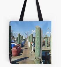 Boat Docks at Point Judith, RI [5] Tote Bag