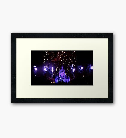 Explosion of Fantasy Framed Print