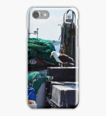 A Seagull at Point Judith, RI [6] iPhone Case/Skin
