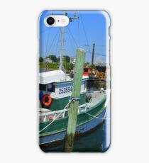 Fishing Trawler at the Docks at Point Judith, RI [7] iPhone Case/Skin