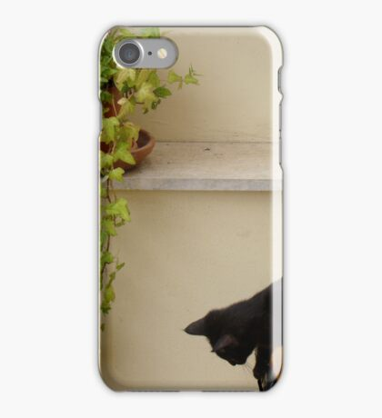 Now How Do I Get Down From Here... iPhone Case/Skin