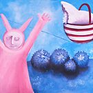 Bunny magic by Belin