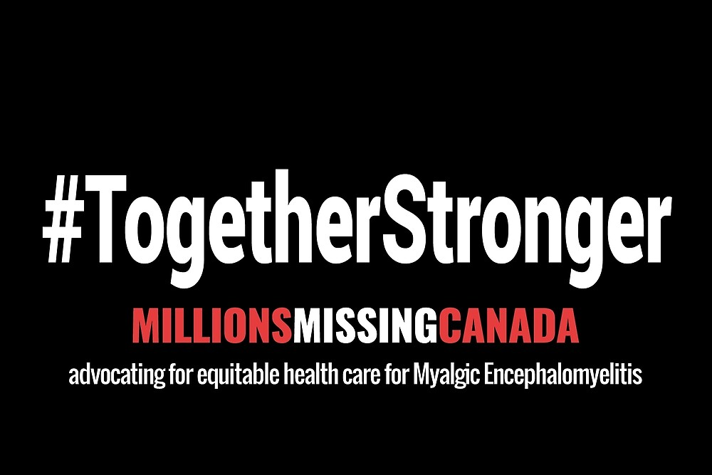 #TogetherStronger (black) by Millions Missing Canada
