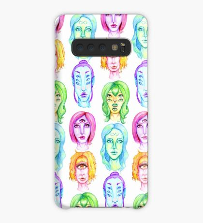 Rainbow of Beautiful Monsters Case/Skin for Samsung Galaxy