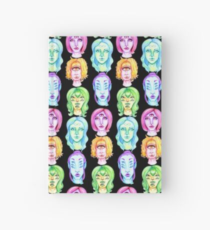 Rainbow of Beautiful Monsters Hardcover Journal