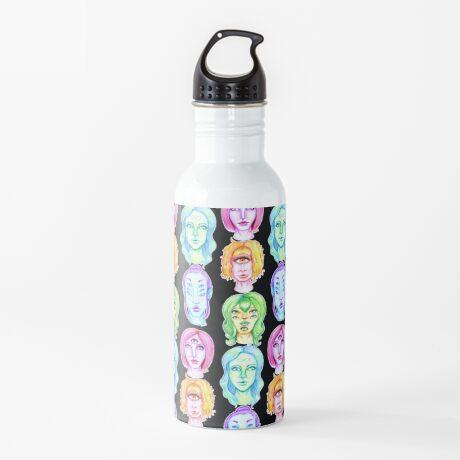 Rainbow of Beautiful Monsters Water Bottle