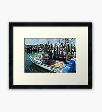 Lobster Boat at Point Judith, RI [10] Framed Print