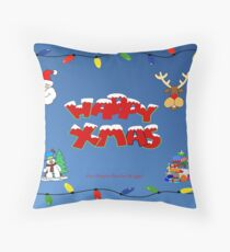 Christmas Card ! Throw Pillow
