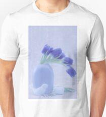 Tulips And Birdies  Unisex T-Shirt