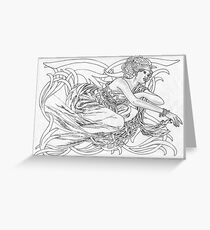 Autumn Phoenix Greeting Card