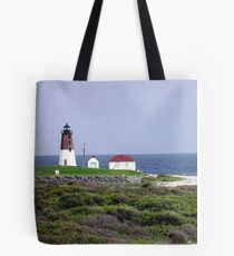The Point Judith, RI Lighthouse [12] Tote Bag