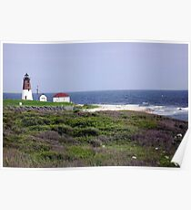 The Point Judith, RI Lighthouse [12] Poster