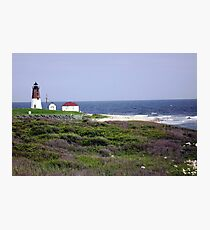 The Point Judith, RI Lighthouse [12] Photographic Print