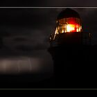 Lighted Lighthouse by Andrew Prince