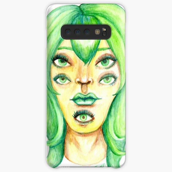 Green Hair, Golden Skin Samsung Galaxy Snap Case