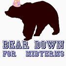 «Bear Down para Midterms» de politedemon