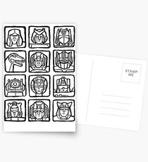 Transformers Rogue Gallery Postcards