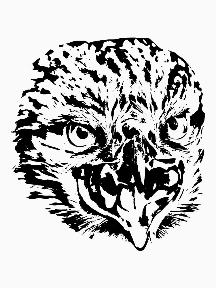 Eagle head predators by Hujer