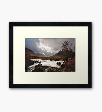 The Wild Glen Etive Framed Print