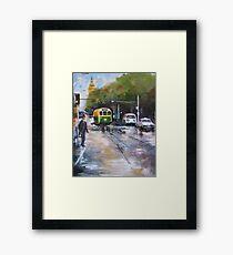 Melbourne Tram Framed Print