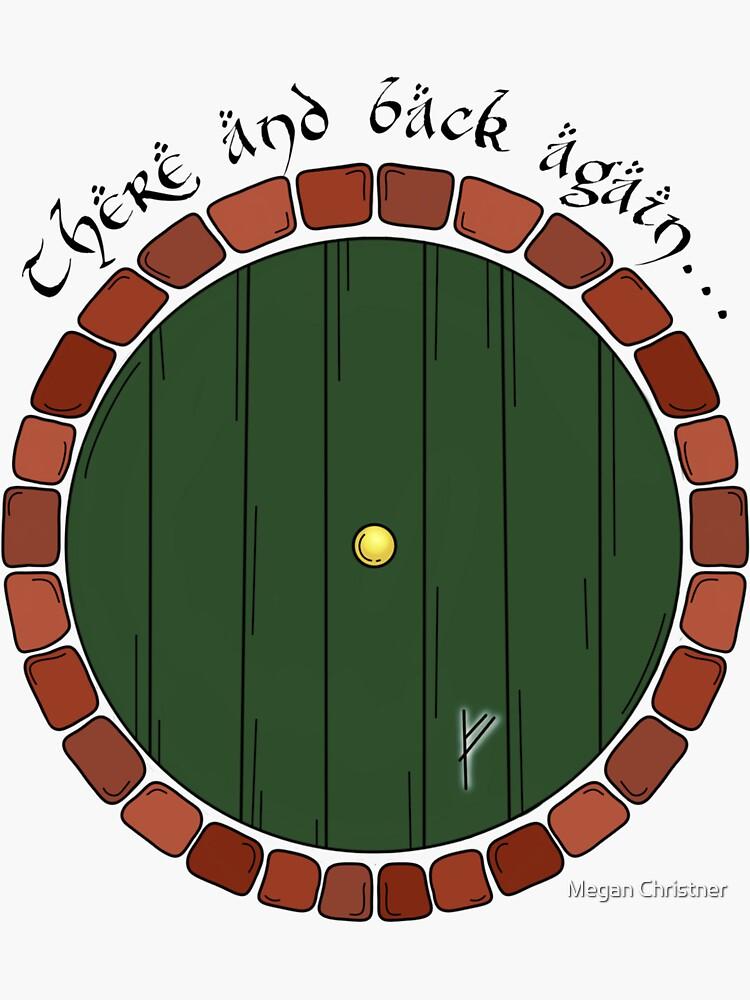 Bilbos Tür mit Zitat # 2 von mkchristner