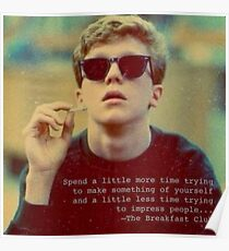 Breakfast Club 1 Poster