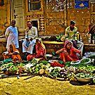 Market - Jaisalmer by pennyswork