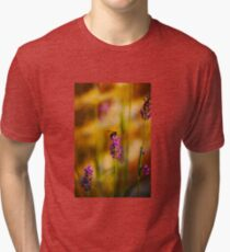 Bee on lavender Tri-blend T-Shirt