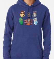 Oneside Tile - All Sides Pullover Hoodie