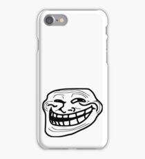 """trollface"" - rage faces iPhone Case/Skin"