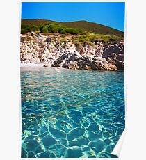 Cap Camarat, Ramatuelle near St-Tropez  Poster