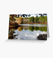 Reflections of the Seasons Greeting Card