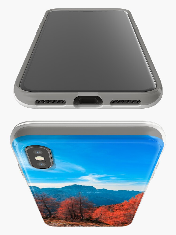 Alternate view of Cloudy autumn day in the italian alps iPhone Case & Cover