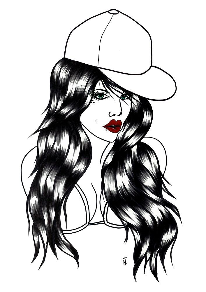 Blackwater girl - Cap by creaturesofnat