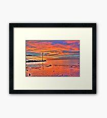 Darwin Sunset 2010 Framed Print