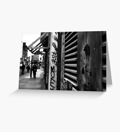 STREET SOUL Greeting Card