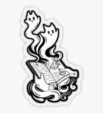 Spirit Book Transparent Sticker