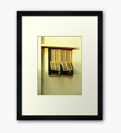At the right time Framed Print