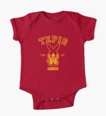 Tepig - College Style One Piece - Short Sleeve