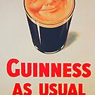Guinness as Usual! by Ferdinand Lucino