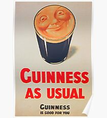 Guinness as Usual! Poster