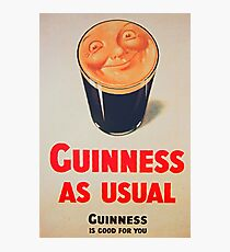 Guinness as Usual! Photographic Print