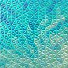 Seafloor Glass Mosaic by Girih