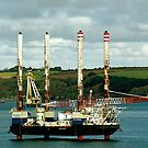 OIL RIG by AndyReeve