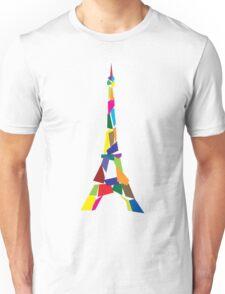 Eiffel tower abstract - Paris, France Unisex T-Shirt