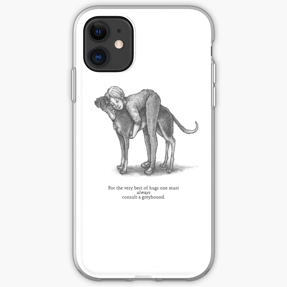 Consult A Greyhound iPhone Case & Cover