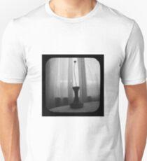 Vase Silhouette B&W TTV Unisex T-Shirt