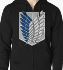 Attack on titan Zipped Hoodie